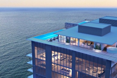 Turnberry Ocean Club Residences Sunny Isles Beach Condos Skyline View