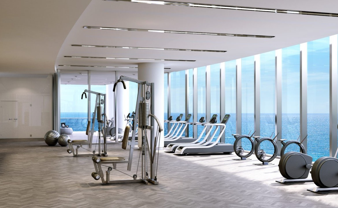 Turnberry Ocean Club Residences Sunny Isles Beach Condos Fitness Centre