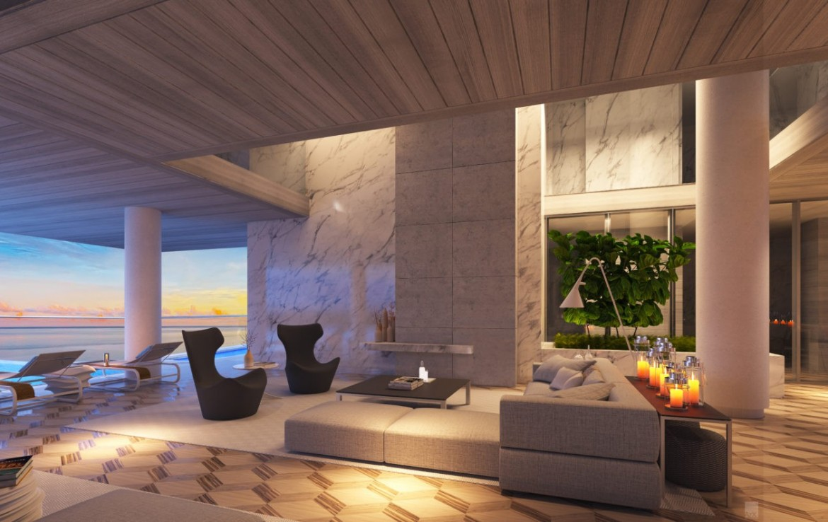 Turnberry Ocean Club Residences Sunny Isles Beach Condos Living Room