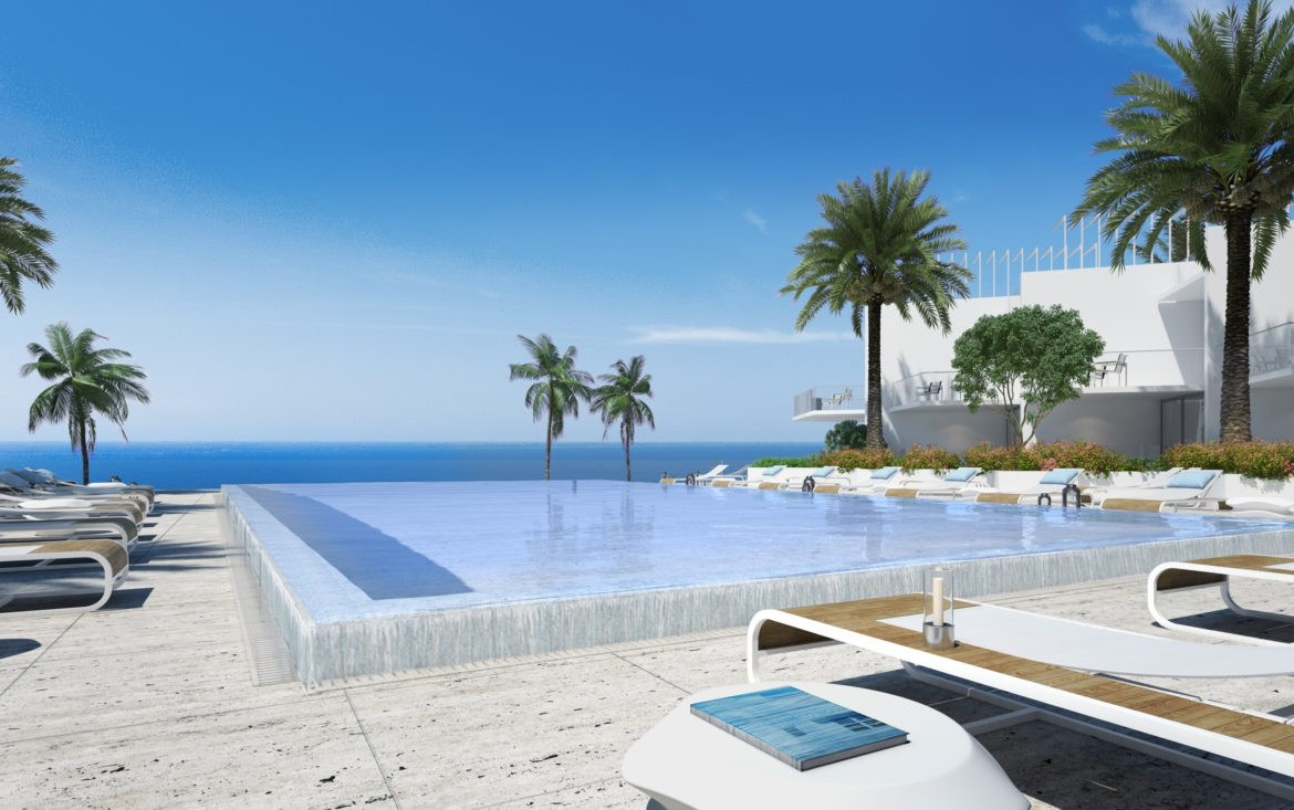 Turnberry Ocean Club Residences Sunny Isles Beach Condos Swimming Pool