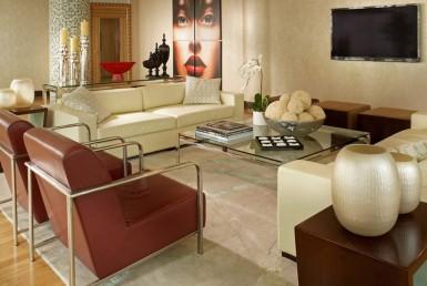 Vizcayne North Tower Condos Living Room