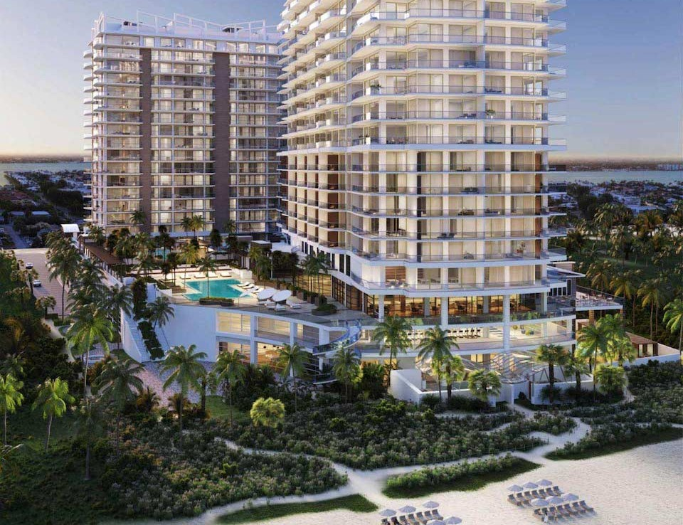 Exterior Rendering of Amrit Ocean Resort and Residences