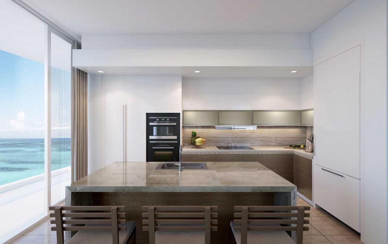Interior Rendering of Amrit Ocean Resort and Residences Kitchen