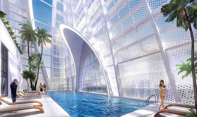Okan Tower Pool