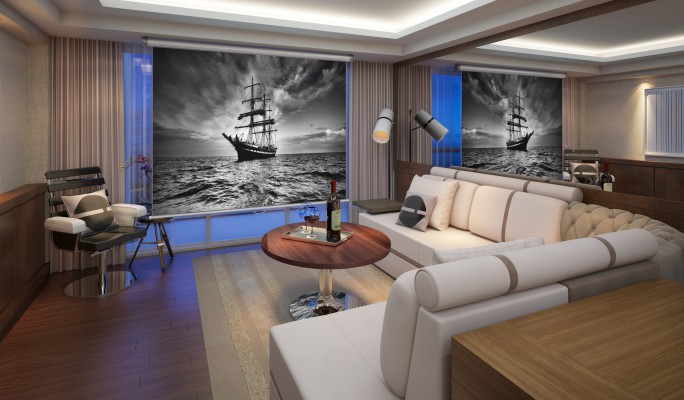 The Ocean Resort Residences Conrad Fort Lauderdale Beach Living Room