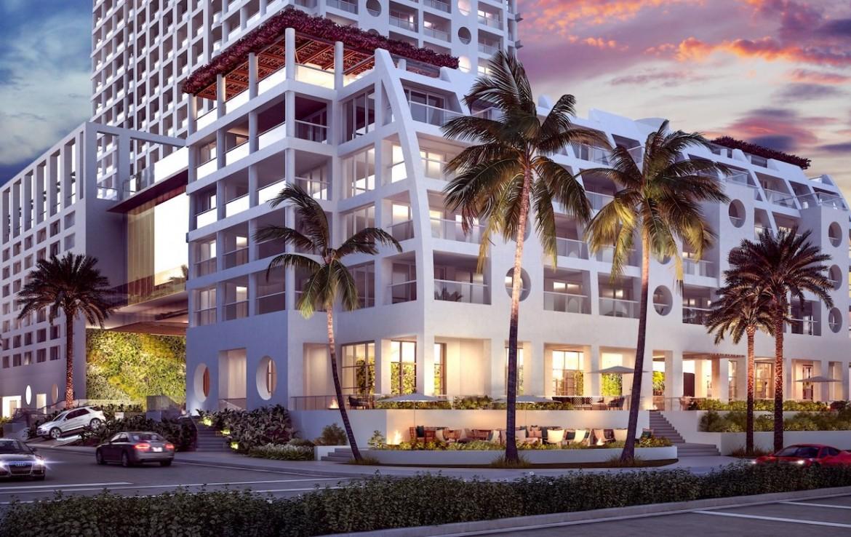 The Ocean Resort Residences Conrad Fort Lauderdale Beach Exterior