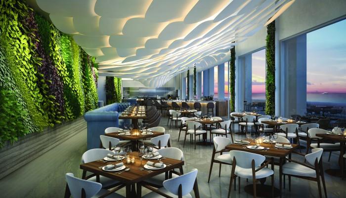 The Ocean Resort Residences Conrad Fort Lauderdale Beach Dining