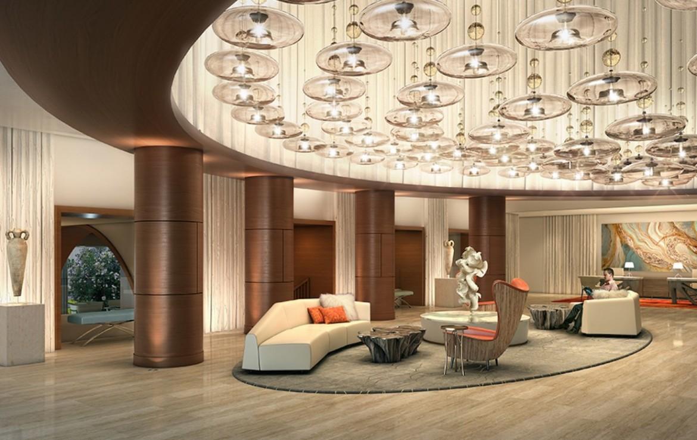 The Ocean Resort Residences Conrad Fort Lauderdale Beach Lobby