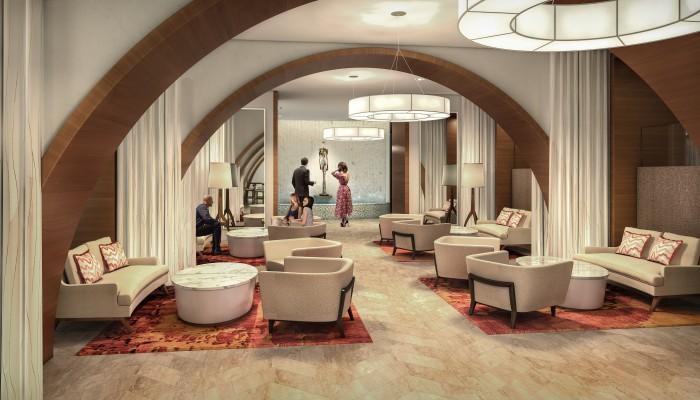 The Ocean Resort Residences Conrad Fort Lauderdale Beach Party Room