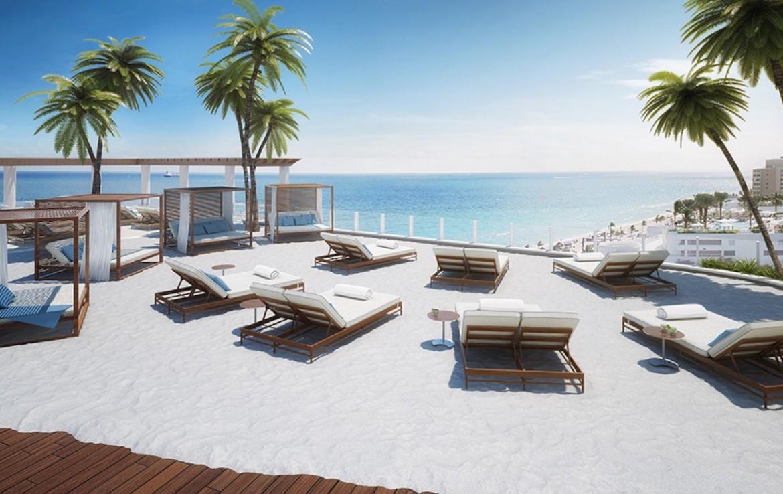The Ocean Resort Residences Conrad Fort Lauderdale Beach Pool-side