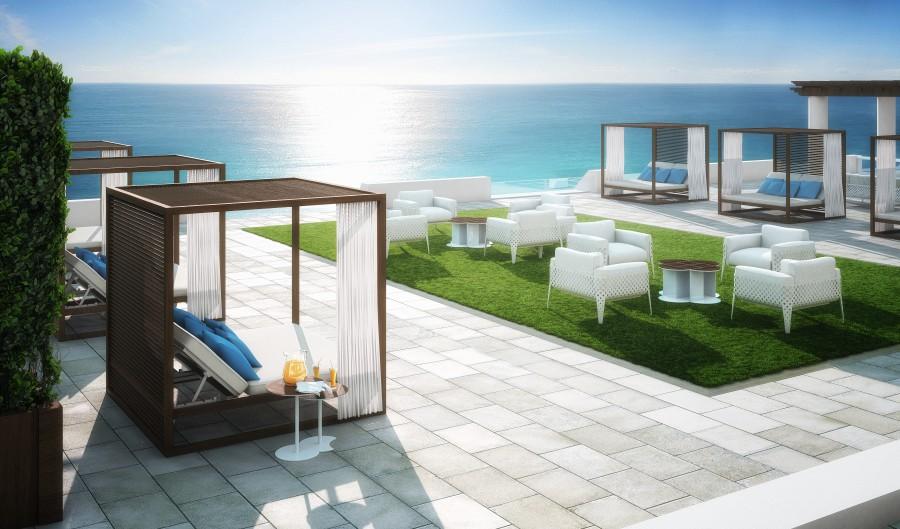 The Ocean Resort Residences Conrad Fort Lauderdale Beach Cabanas