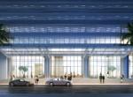 rendering-exterior-of-okan-towers-miami-Exterior-Lobby