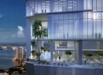 rendering-exterior-of-okan-towers-miami-Sky-Lobby-001